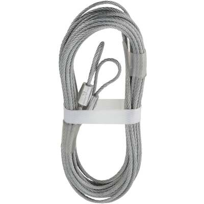 National 3-32 In. Dia. x 12 Ft. L. Garage Door Extension Spring Lift Cable (2 Count)