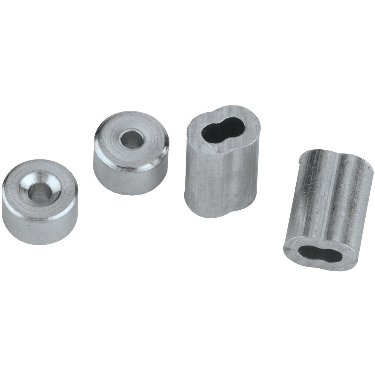 National 1/16 In. Aluminum Garage Door Ferrule & Stop Kit Image 3