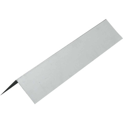 NorWesco A 1 In. X 1 In. Galvanized Steel Roof & Drip Edge Flashing