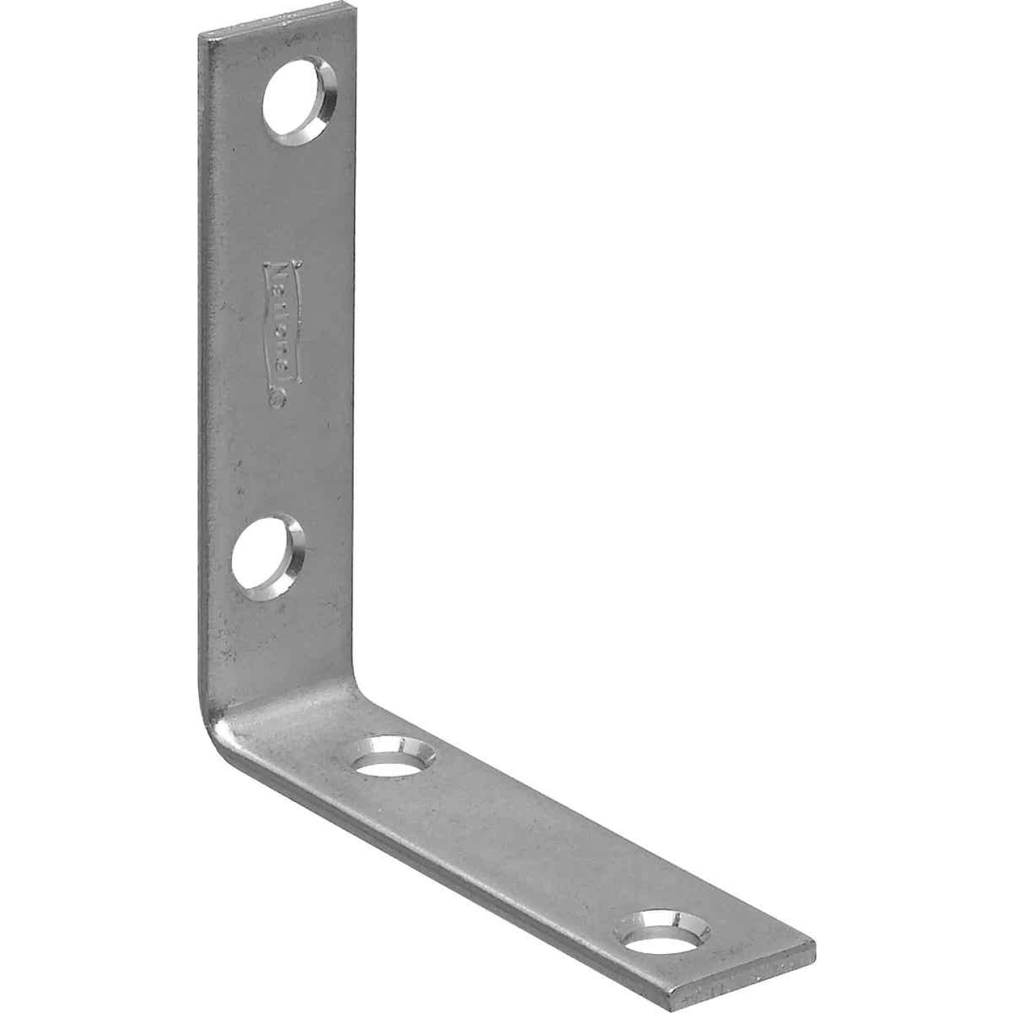National Catalog 115 2-1/2 In. x 5/8 In. Zinc Corner Brace Image 1