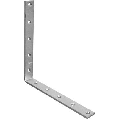 National Catalog 115 10 In. x 1/4 In. Zinc Corner Brace