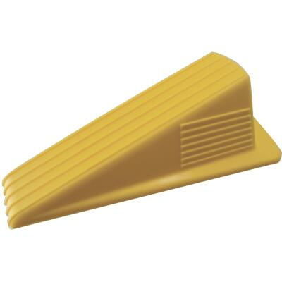 Do it Yellow Wedge Door Stop