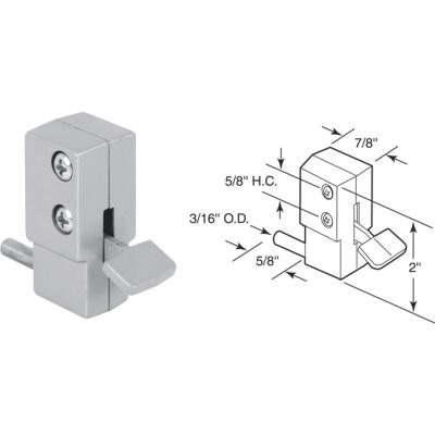 Defender Security Aluminum Step-On Patio Door Lock