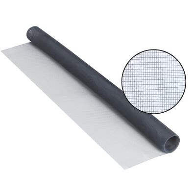Phifer 24 In. x 84 In. Charcoal Aluminum Screen Ready Rolls