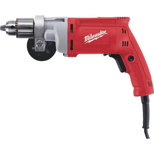 Milwaukee Magnum 1/2 In. 8-Amp Keyed Electric Drill with Textured Grip
