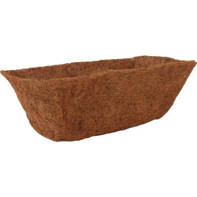 Best Garden 22 In. W. x 12 In. L. x 8.3 In. D. Coconut Fiber Rectangle Plant Liner